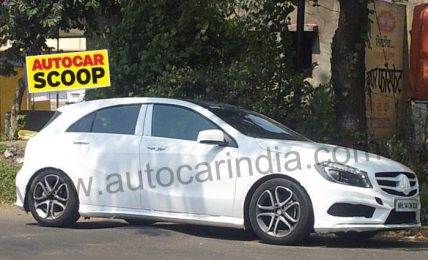 Mercedes A Class Spotted In India