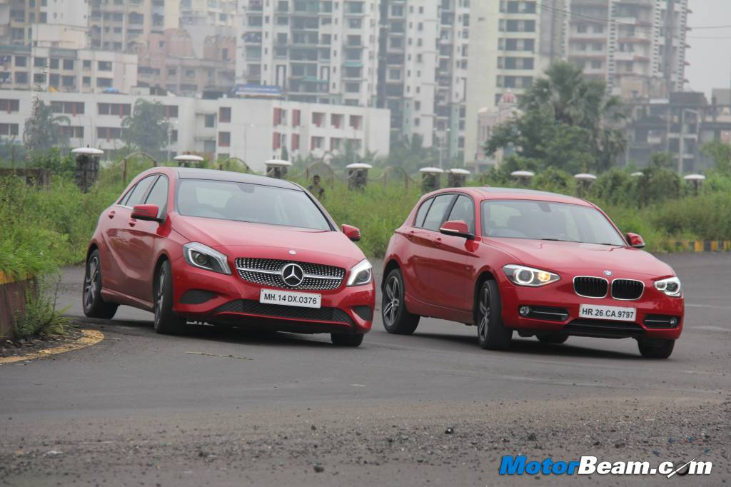 Mercedes A-Class vs BMW 1-Series Review