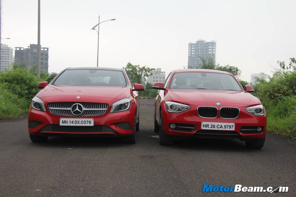 Mercedes A-Class vs BMW 1-Series Shootout