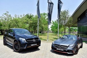 Mercedes-AMG GLE 43 OrangeArt, SLC 43 RedArt Edition Launched In India
