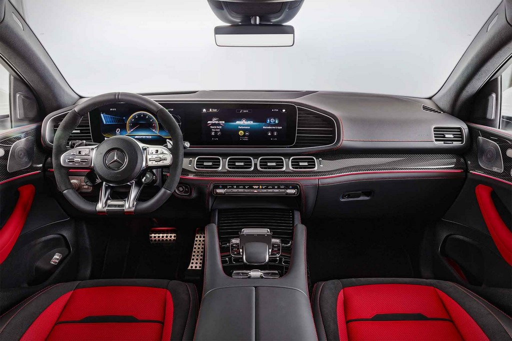 Mercedes-AMG GLE 53 Coupe Interior