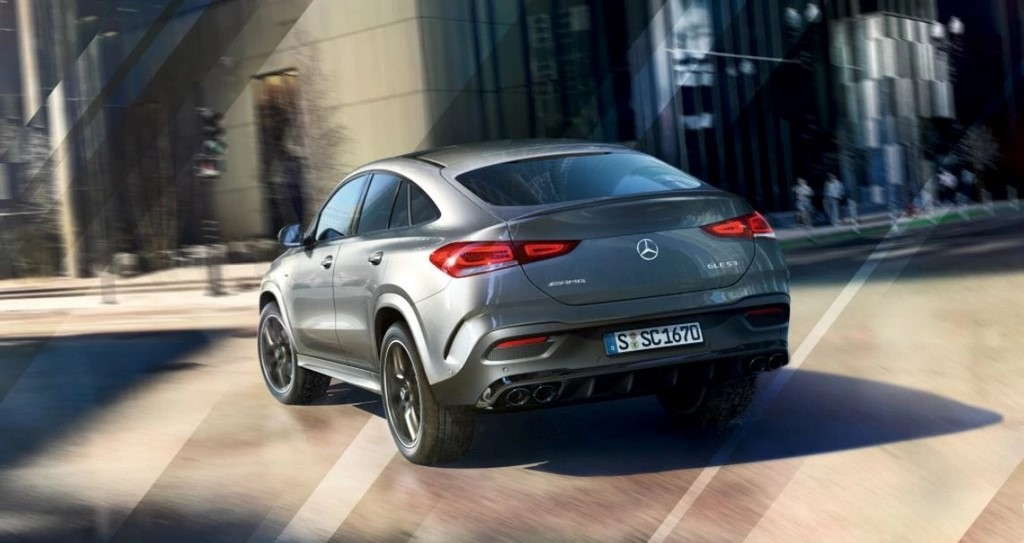 Mercedes-AMG GLE 53 Coupe Rear