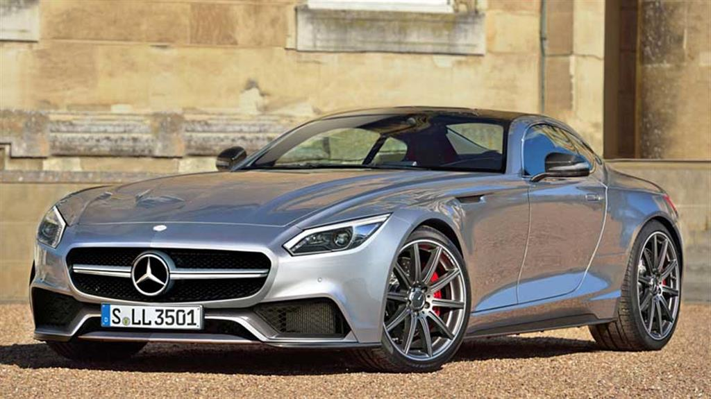 Mercedes AMG GT Front
