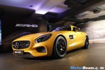 Mercedes AMG GT S Launch