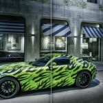 Mercedes AMG GT Spy Picture