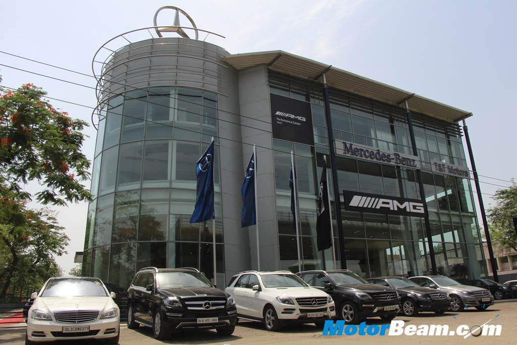 Mercedes AMG Performance Center Delhi