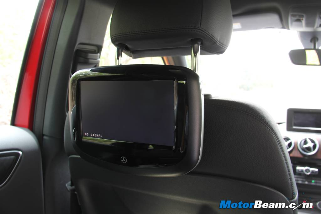 Mercedes B-Class Edition 1 Entertainment Package