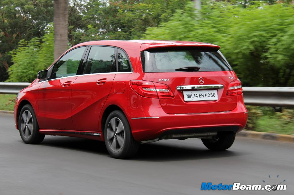 Mercedes B-Class Edition 1 India