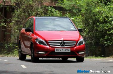 Mercedes B-Class Edition 1 Road Test