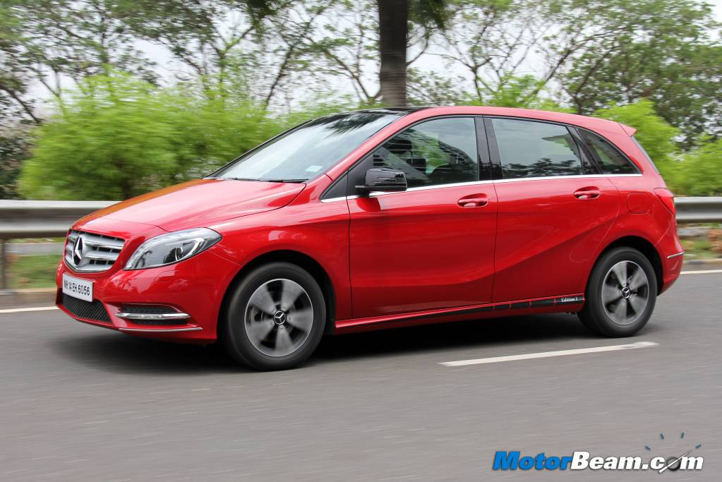 Mercedes B-Class Edition 1 Test Drive Review