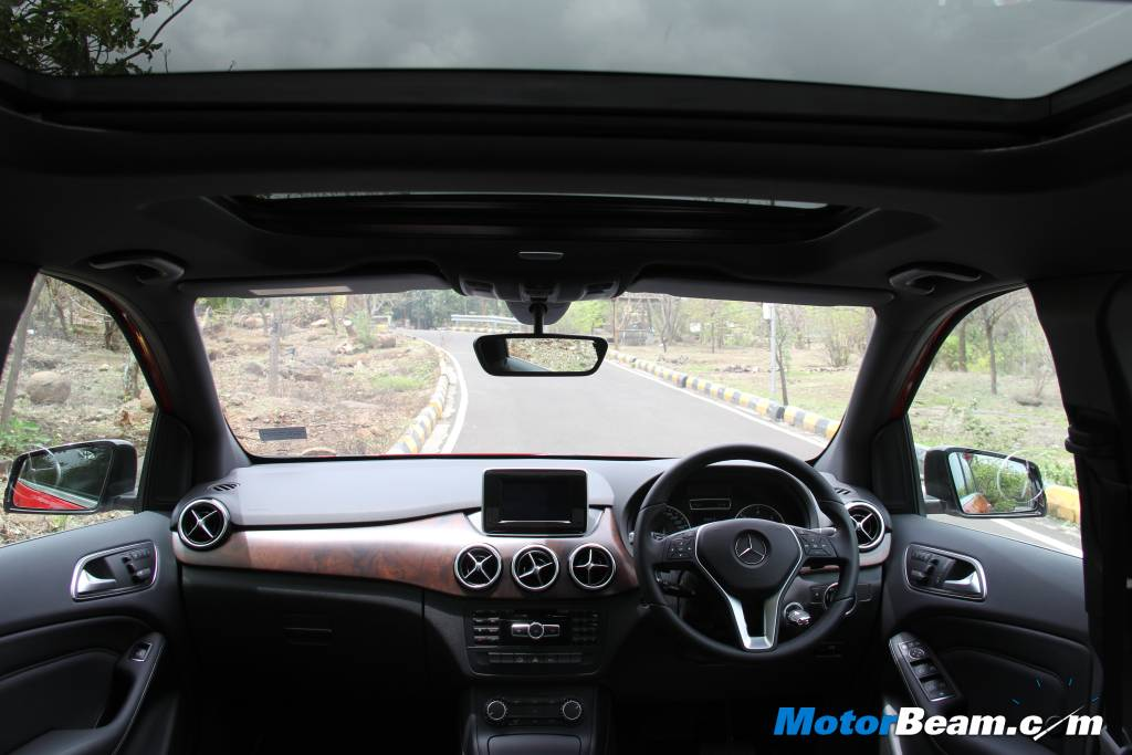 Mercedes B-Class Edition 1 User Experience