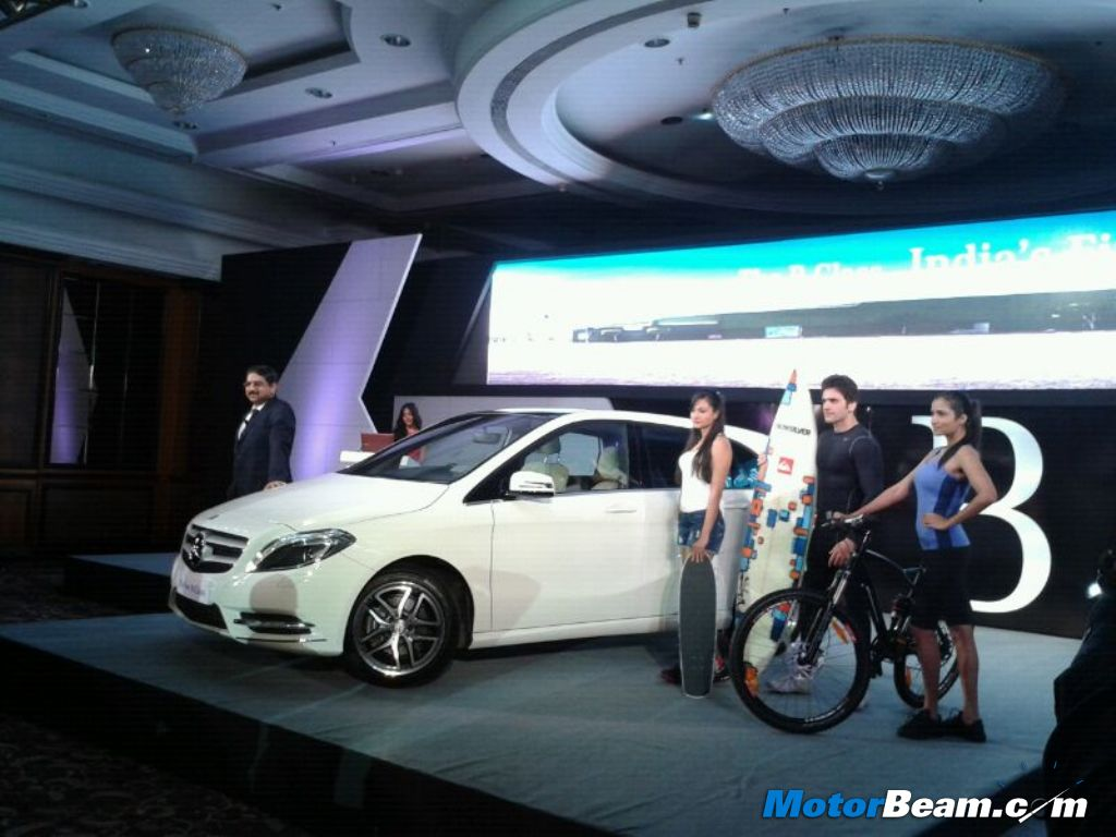 Mercedes B-Class Launched