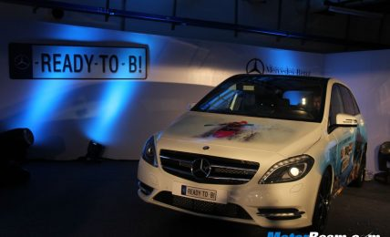 Mercedes B-Class Unveiling