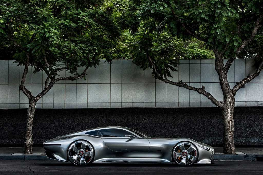 Mercedes Benz AMG Vision Gran Tourismo Side
