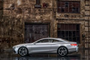 Mercedes-Benz Concept S-Class Coupe Side