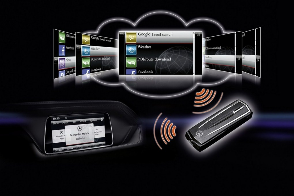Mercedes-Benz E-Class Accessories Connectivity