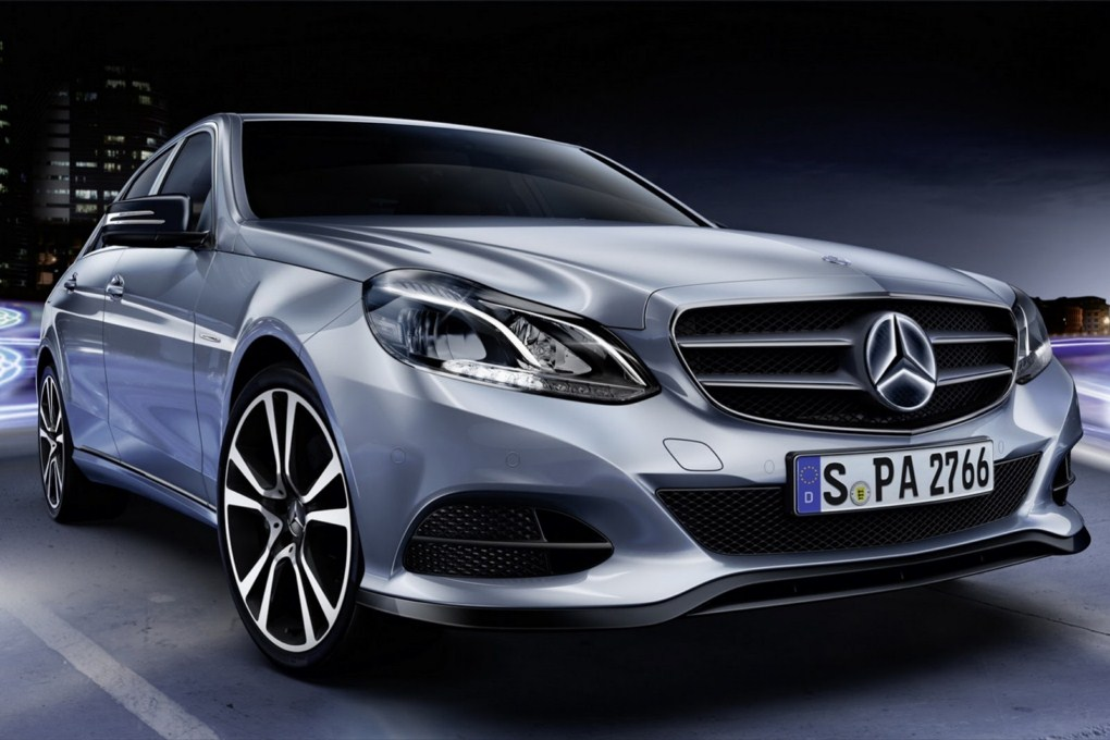 Mercedes-Benz E-Class Accessories Illuminated Star Front