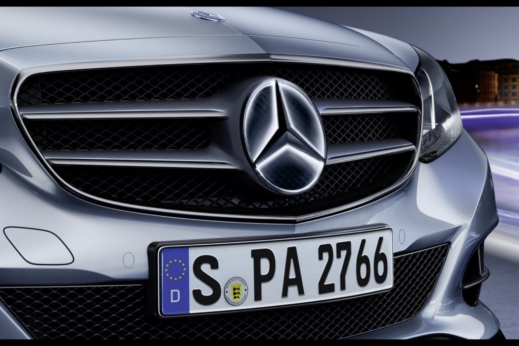 Mercedes-Benz E-Class Accessories Illuminated Star