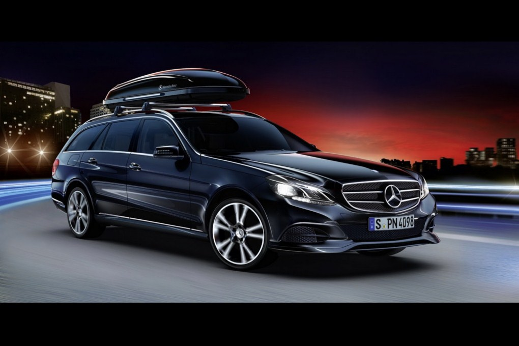 Mercedes-Benz E-Class Wagon Accessories Roof Storage