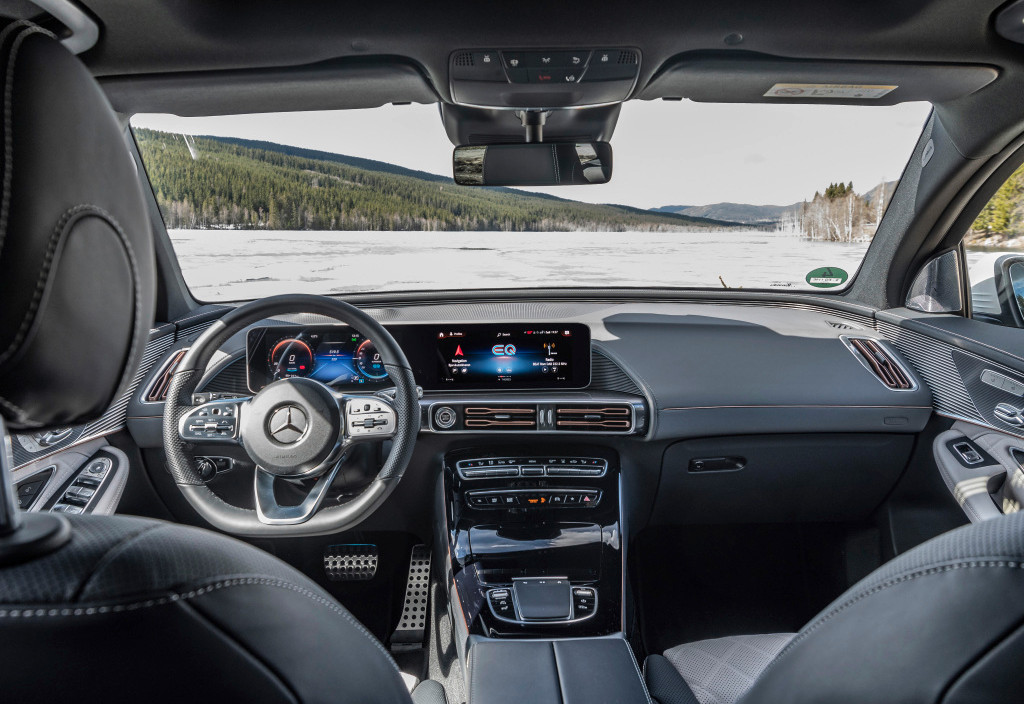 Mercedes-Benz EQC Interior Reveal