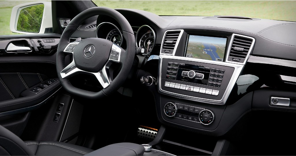 Mercedes Benz GL63 AMG Interior