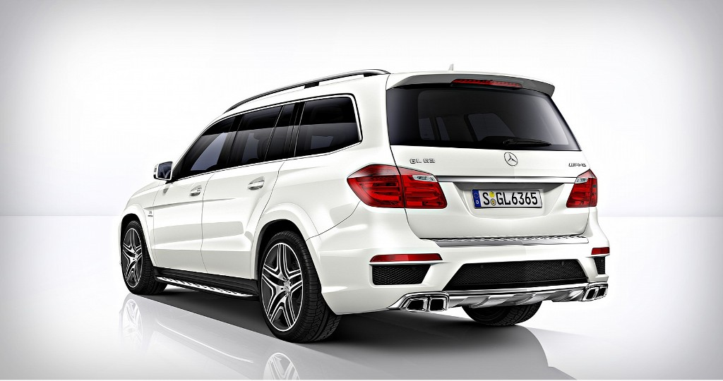 Mercedes Benz GL63 AMG Rear