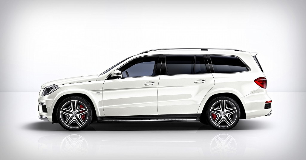 Mercedes Benz GL 63 AMG Side
