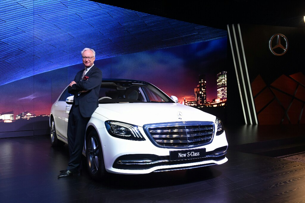 Mercedes Benz S-Class Facelift Launched