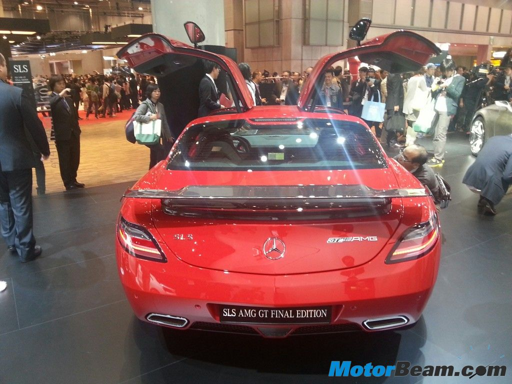 Mercedes Benz SLS AMG Final Edition Rear