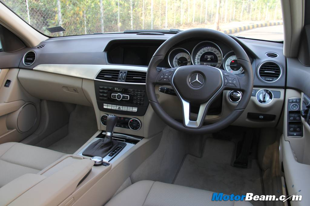 Mercedes benz c-class grand edition in india for rs. 36. 81 lakh.