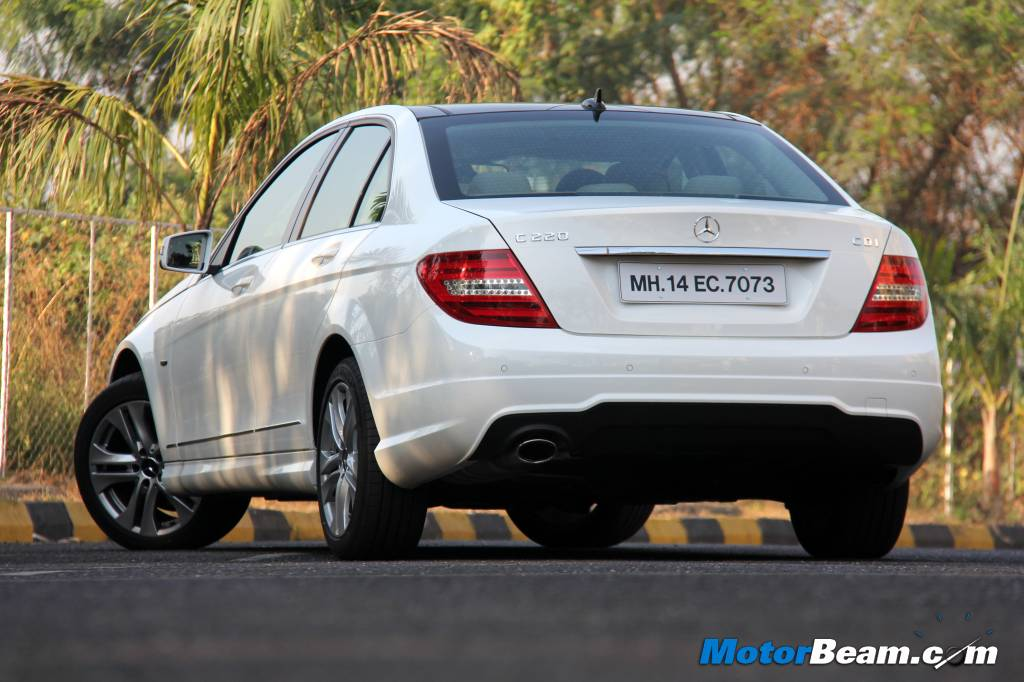 Mercedes launches c-class grand edition at rs 36. 81 lakh rediff.