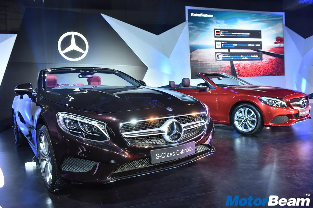 Mercedes C-Class S-Class Cabriolet Launched