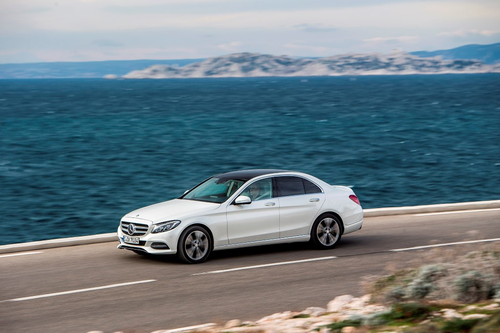 Mercedes C250d Launch