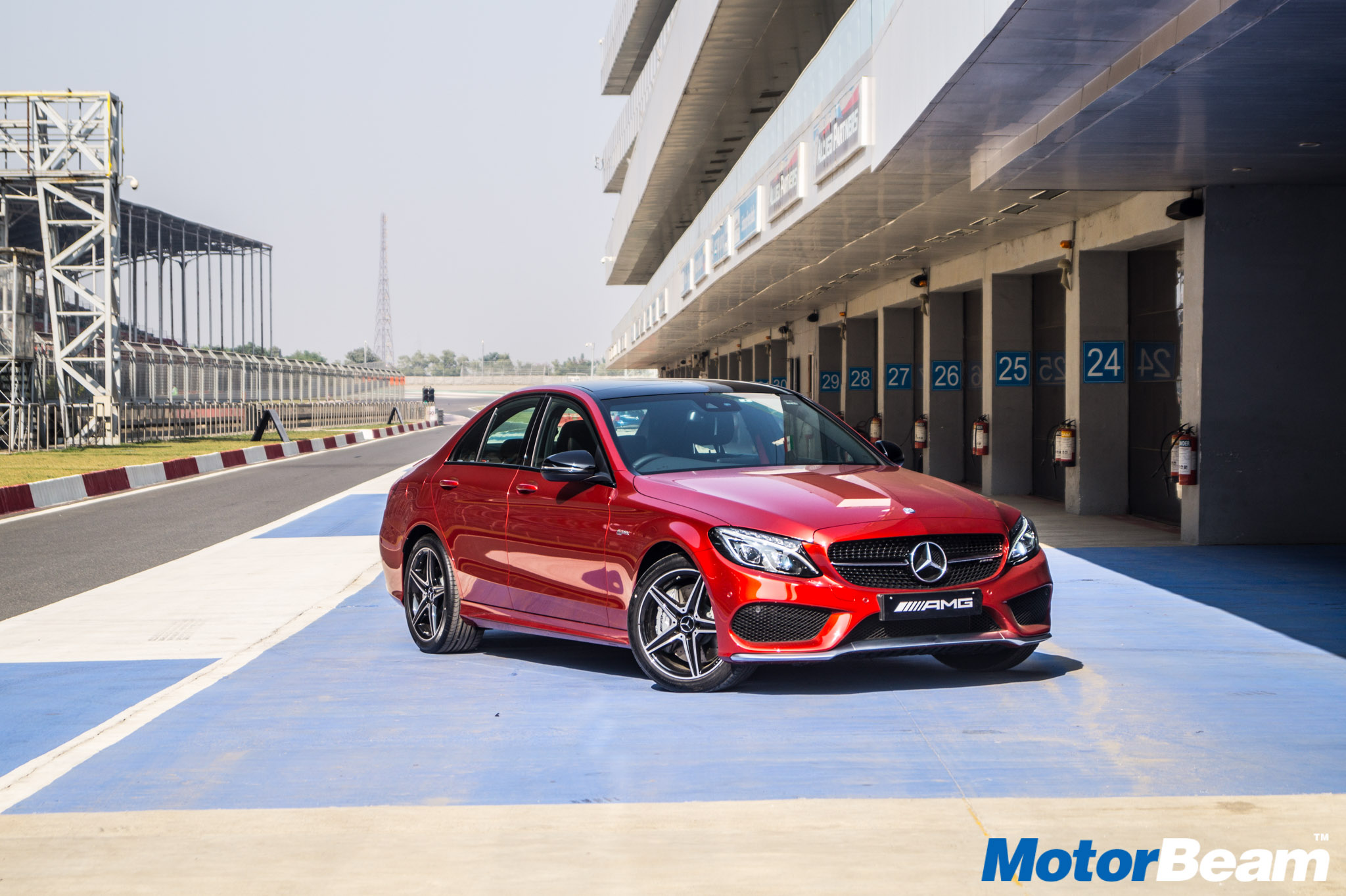 Mercedes C43 AMG Review