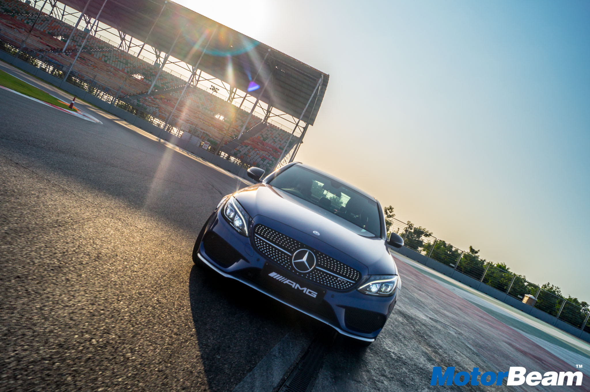 Mercedes C43 AMG Track Experience