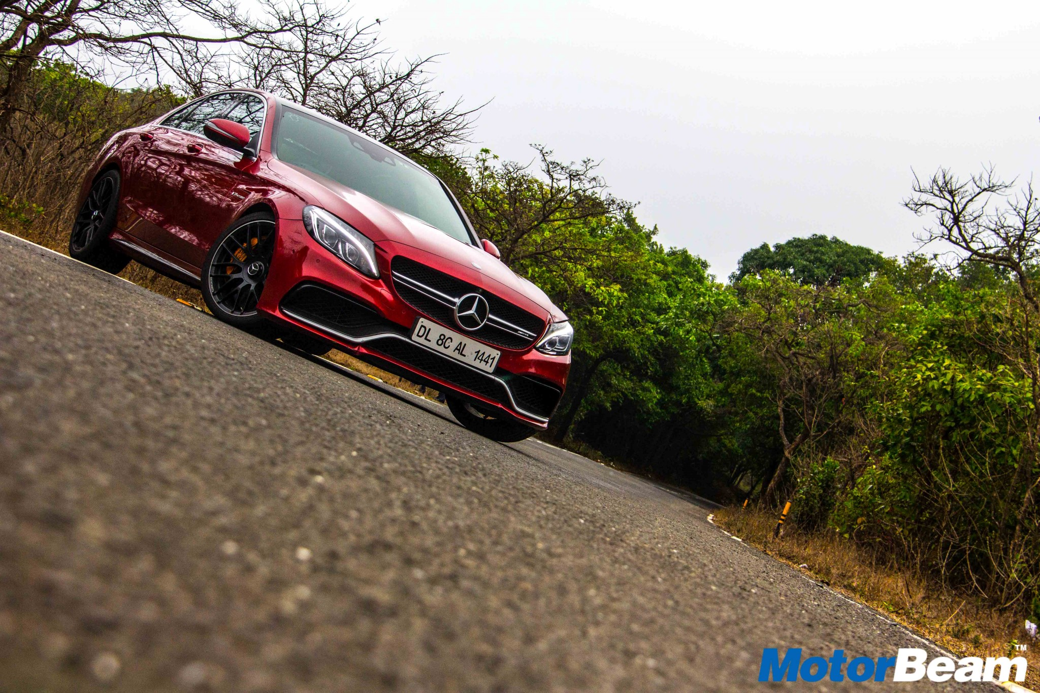 Mercedes C63 AMG S Test Drive Review | MotorBeam - Indian Car Bike
