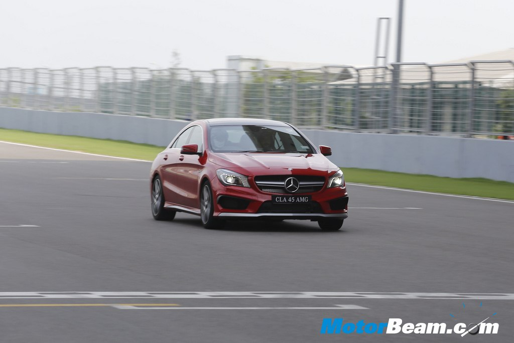 Mercedes CLA 45 AMG BIC Experience