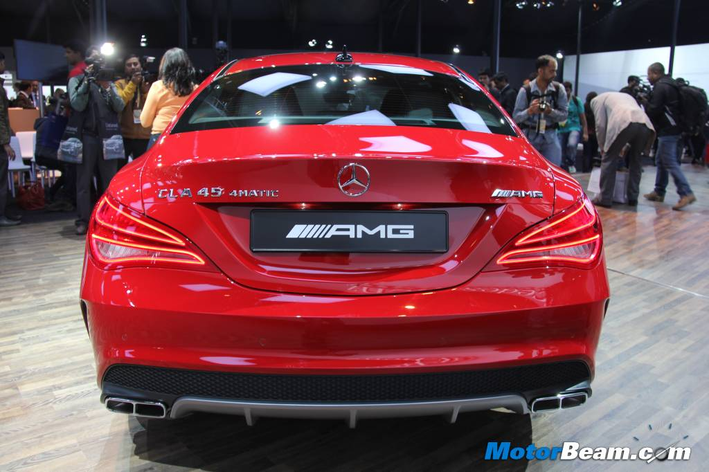 Mercedes Cla 45 Amg India Showcase