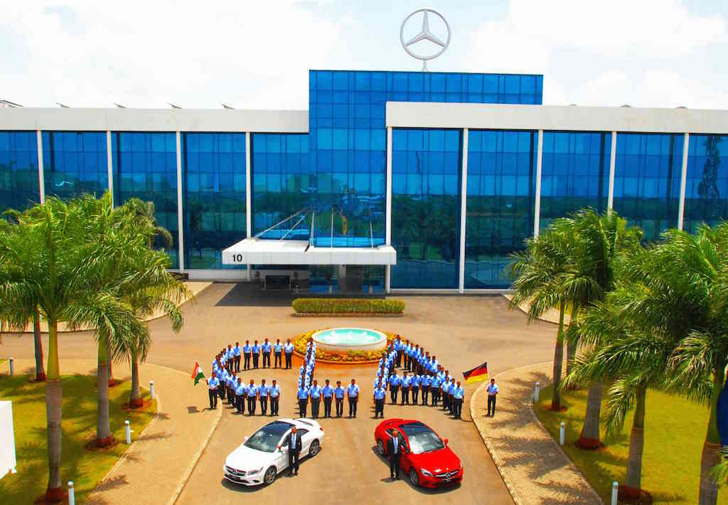 Mercedes CLA Local Production India