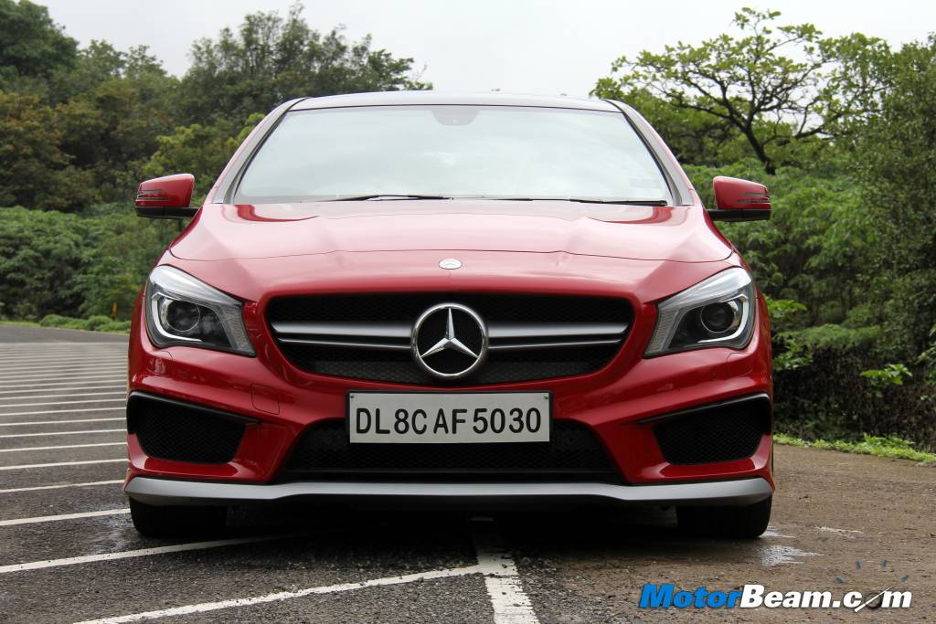 Mercedes CLA45 AMG India Review