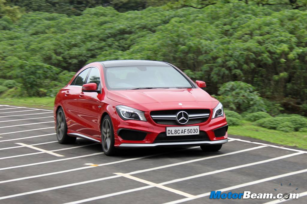 Mercedes CLA45 AMG Review