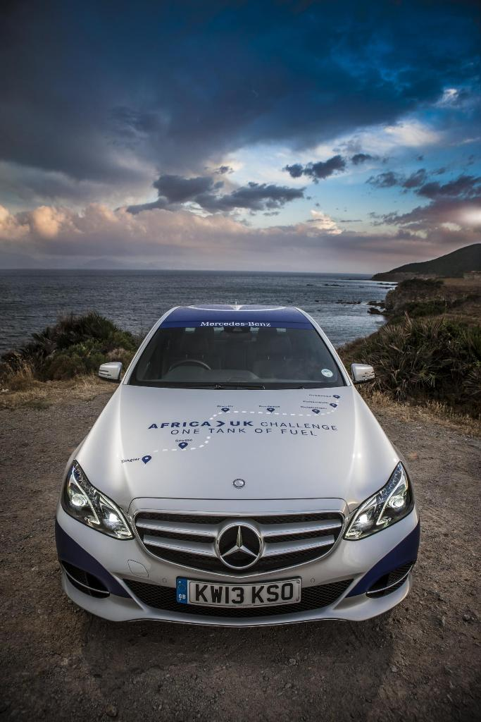 Mercedes E-Class Africa To UK One Tank
