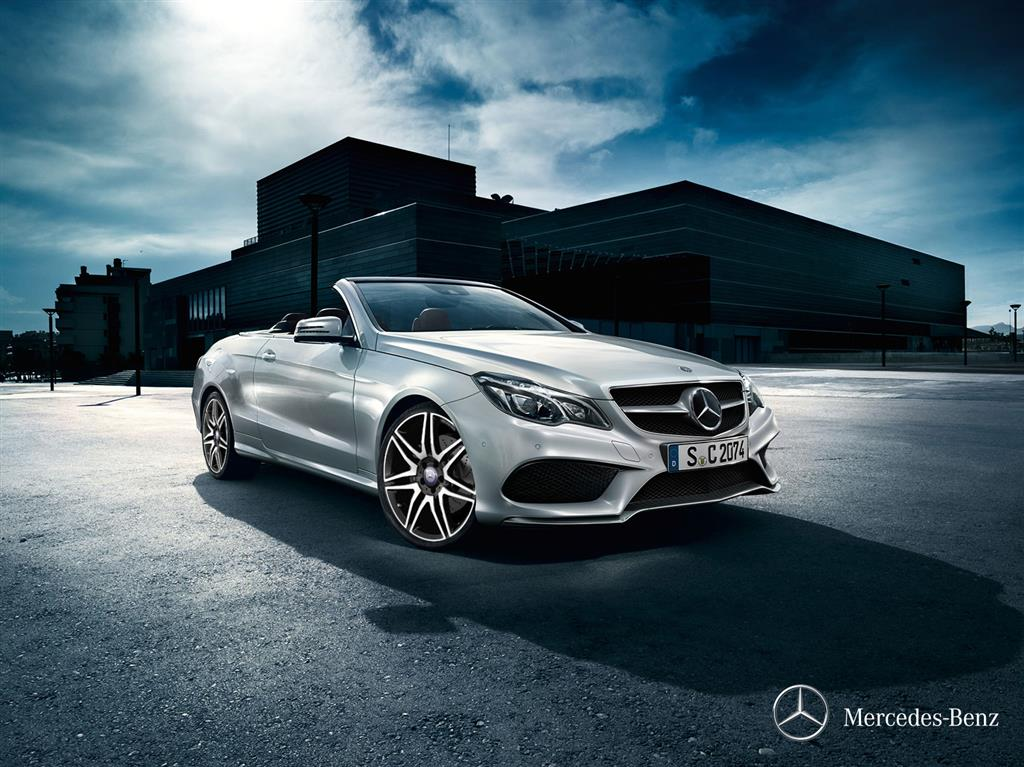 Mercedes E400 Cabriolet Wallpaper