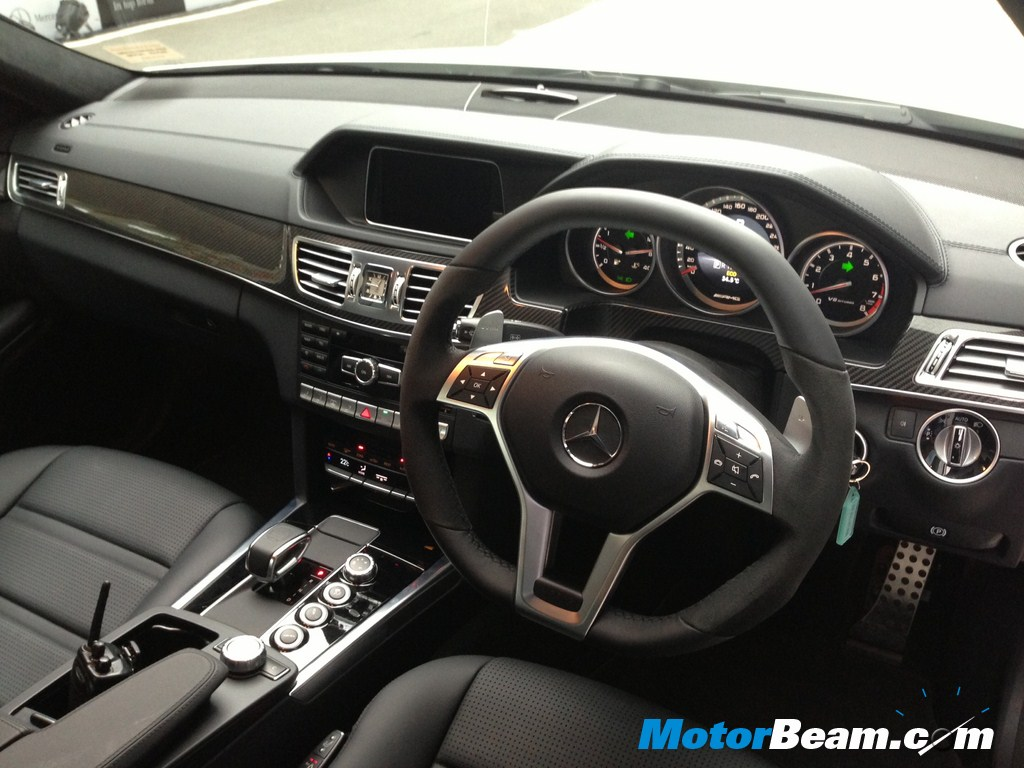 Mercedes E63 Amg Launch Interiors