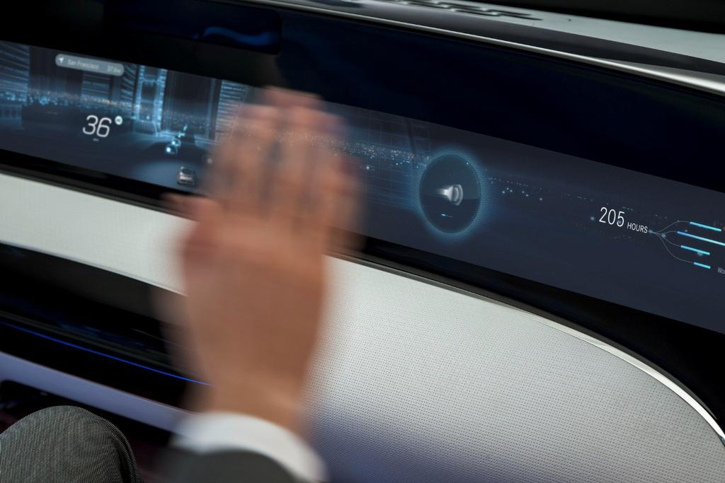 Mercedes F 015 Concept Dashboard