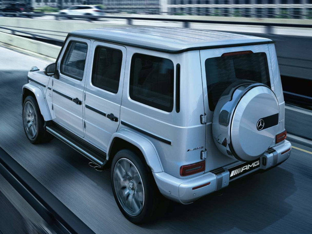 Electric heart soon to beat in Mercedes-Benz G-Class
