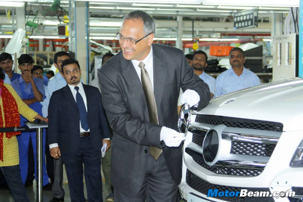 Mercedes GL-Class India Assembly