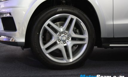 Mercedes GL Class Launch Wheels