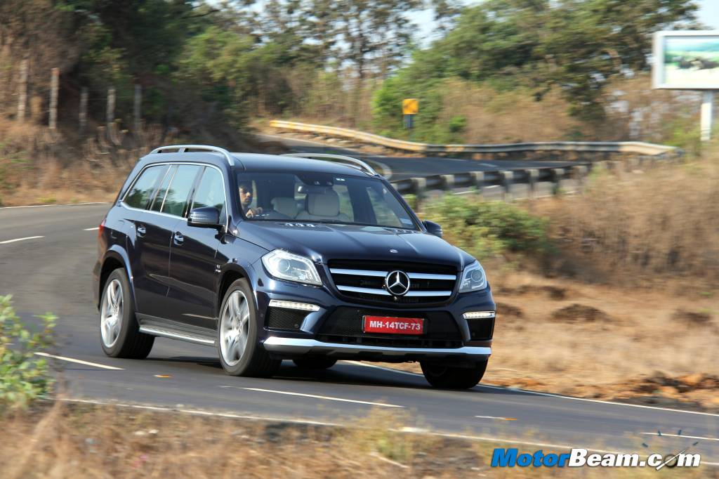 Mercedes GL63 AMG Road Test