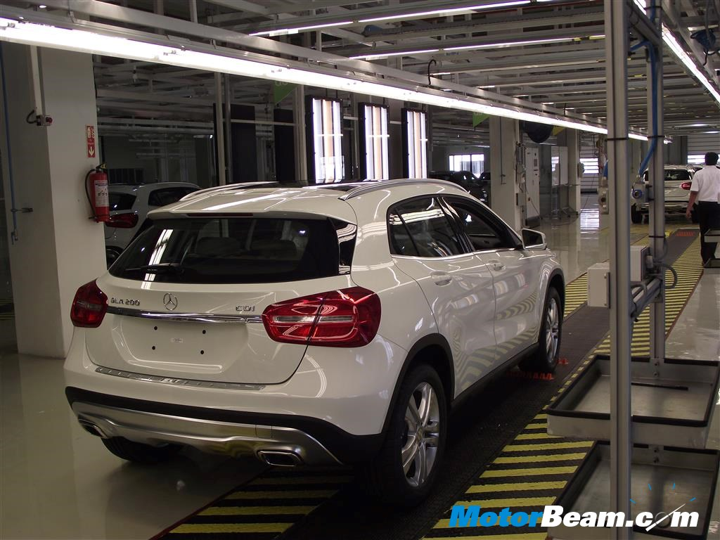 Mercedes GLA Local Assembly